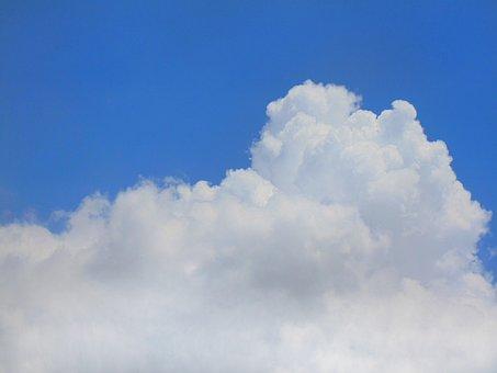 Sky, Clouds, Blue, Camera, Sony