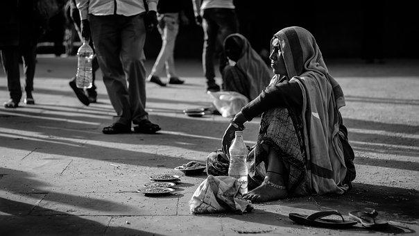 Street, Beggar, Homeless, Poverty, Poor, People