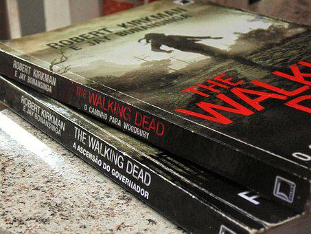 Books, The Walking Dead, Camera, Sony