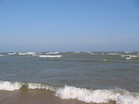 Lake Michigan, Beach, Water, Lake, Park