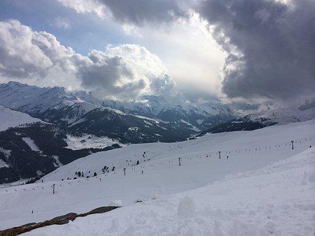 Winter Sports, Sun Comes Through, View, Relax, Enjoy
