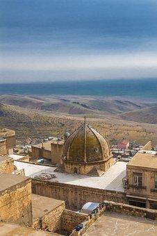 Mardin, City, On, Mesopotamia, Architecture