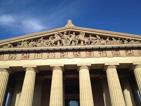 Parthenon, Nashville, Tennessee, Architecture, Building