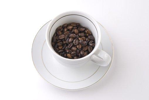 Coffee, Teacup, Cafe, Saucer, Coffee Beans
