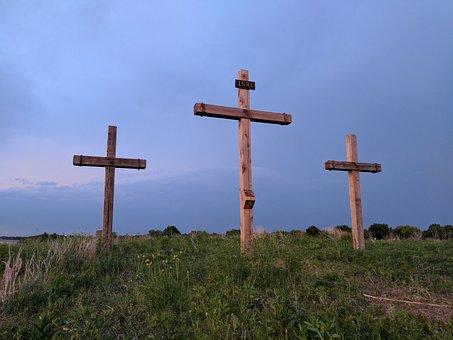 Cross, Easter, Crosses, Easter Sunday, He Is Risen