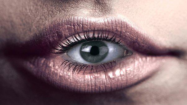 Eye, Mouth, Lips, View, Belonging Together, Art, Look