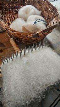 Wool, Fiber, Spinning, Corriedale, Wool Combs