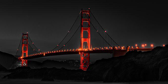 Golden Gate, Golden Gate Bridge, San Francisco