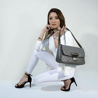 Handbags, Fashion, Editorial, Woman, Stylish, Lady