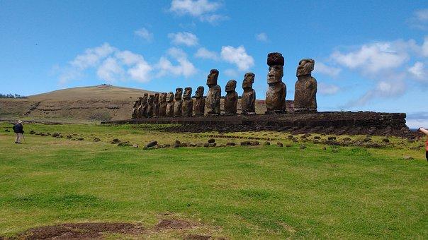 Easter, Island, Chile, Rapa, Nui, South, Tourism