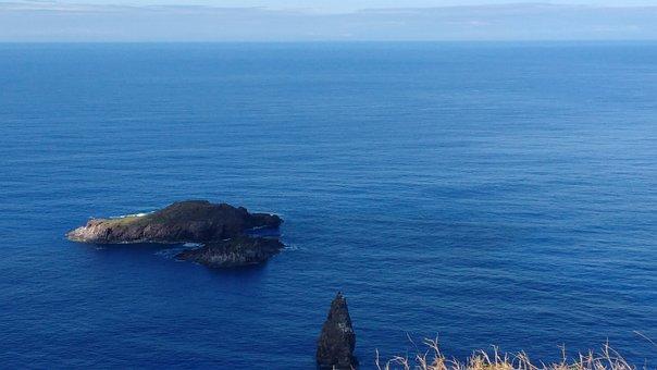 Ocean, Rapa, Nui, Island, Chile, South, America, Travel