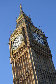 Big Ben, London, England, Ben, Big, Clock, Landmark