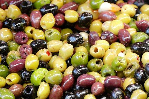 Olives, Market, Market Hall, Farmers Local Market, Food