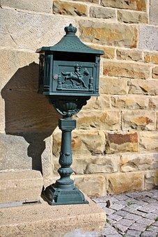Letter Boxes, Mailbox, Nostalgic, Ornament, Post, Old