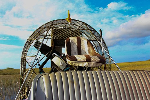 Airboat, Florida, Speed, Fast, Vessel, Usa, Colorful