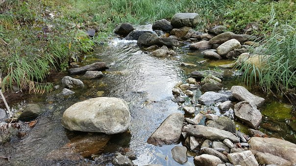 The Rural Brook, The Creek, Streams