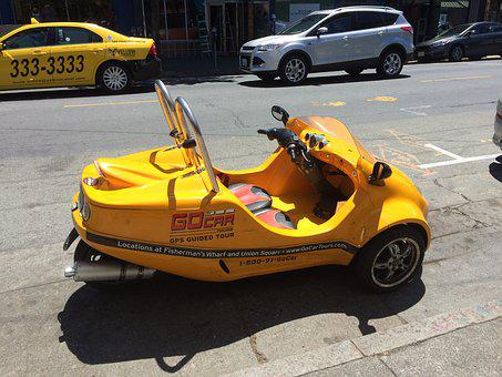 San Francisco, Go-car, Tourist Rental