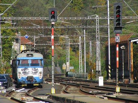 Railway, Transport, Railway Station, Seemed, Gleise