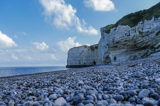 ètretat, France, Normandy, White Cliffs, Rock, Travel