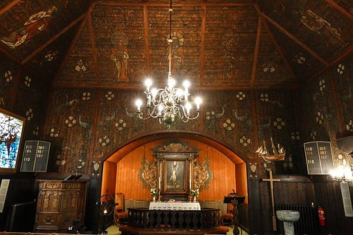 Church, Sjømannskirken, Rotterdam, Wooden Church