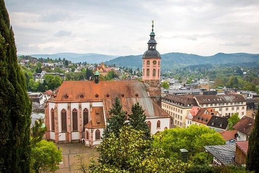 Baden Baden, Collegiate Church, Basilica, Romanesque