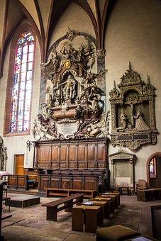 Baden Baden, Collegiate Church, Basilica, Epitaph