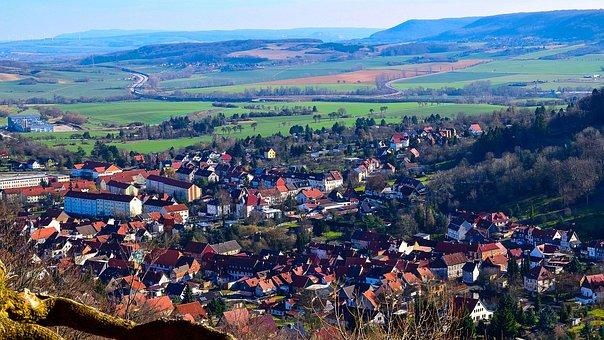 Südharz, Landscape, Highway, Bleicherode