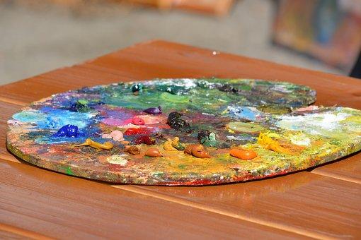Palette, Paint, Creativity, Artist, Color, Picture