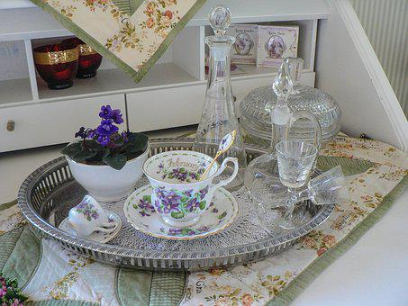 Deco, Decoration, At Home, Cup, Glass, Baroque