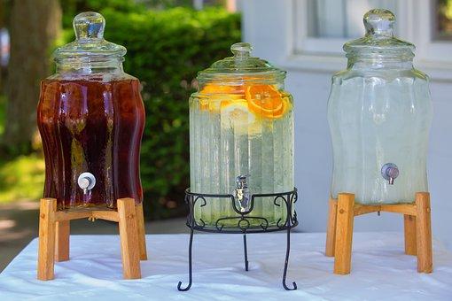 Ice Tea, Summer, Drinks, Lemonade, Ice, Tea, Cold
