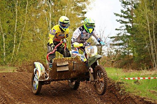 Sidecar, Race, Motorsport, Motocross, Enduro, Racing