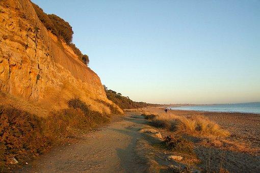 Ocean, Walkway, Dorset, England, Outlook