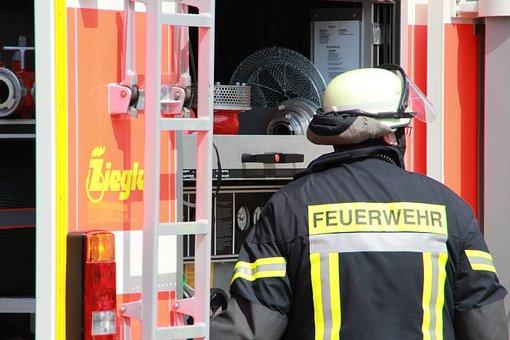 Fire, Machinist, Pump, Fire Fighter, Fire Truck