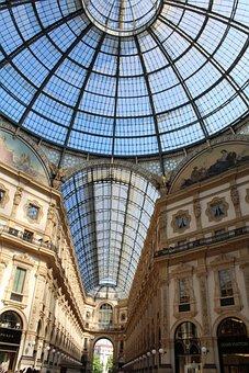 Milan, Galleria Vittorio Emanuele, Historical Building