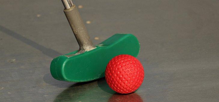Miniature Golf, Mini Golf Club, Skill Game