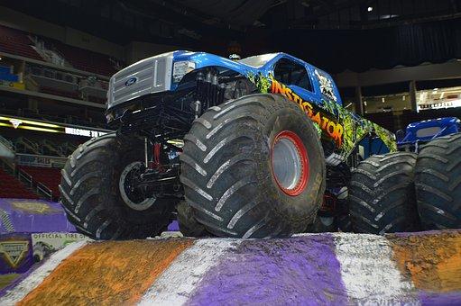 Monster Truck, Monster Jam, Motorsports, Instigator