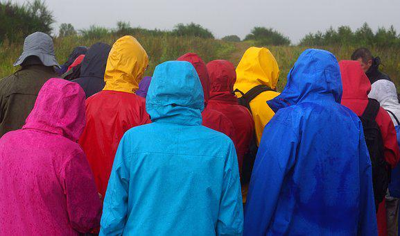 Rainy Weather, Rainwear, Regnjakker, Rain, Flurry