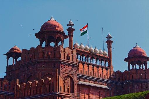 Red Fort, Delhi, India, Travel, Ancient, Castle