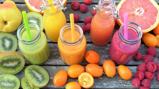 Smoothies, Fruits, Colorful, Vitamins, Healthy, Fruit