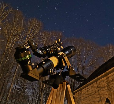 Telescope, Sky, Stars, Astronomy, Space, Cosmos, Galaxy