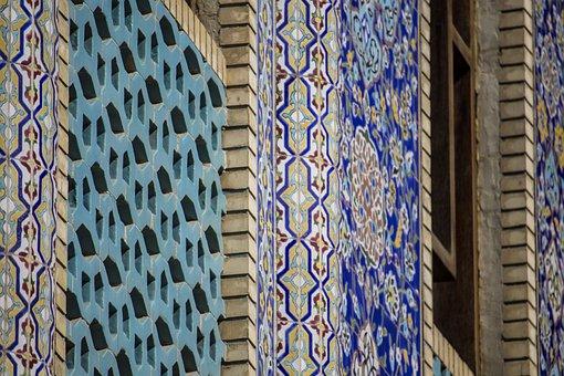 Mosque, Sunnis, Arabs, Sunni, Emirates, Blue, Turquoise