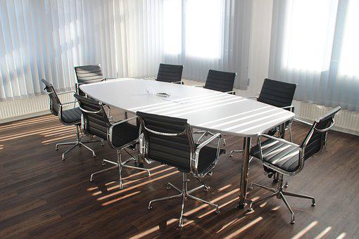 Table, Office, Meeting, Work, Business, Law Firm