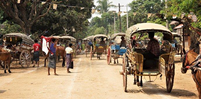 Myanmar, Temple Visit, Travel