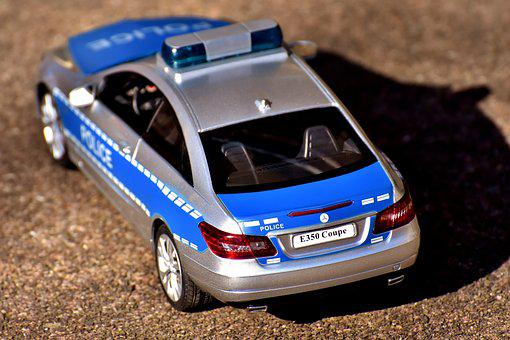 Police, Racing Car, Toys, Auto, Vehicle, Toy Car