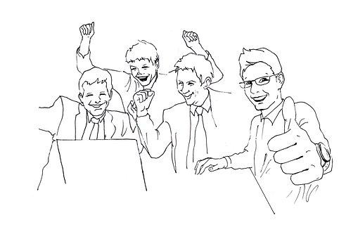 Accountant, Programmer, Guys, Joy, Boys, Victory, Work