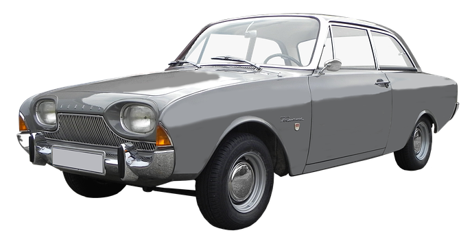 Isolated, Ford Taunus, 17m, P3, Model Years 1960-1964