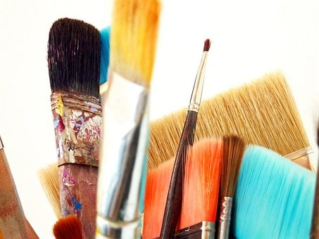 Brush, Paint, Art, Color, Colorful, Painting, Brushes