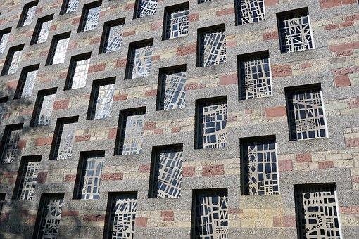 Pforzheim, Church, Germany, Window, Building