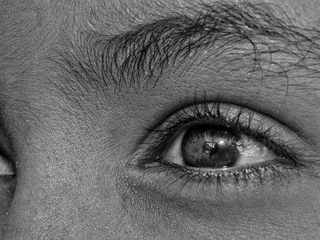 Eyes, Pretoebranco, Camera, Sony