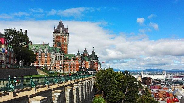 Frontenac, Québec, Castle, Canada, Quebec, Old Quebec